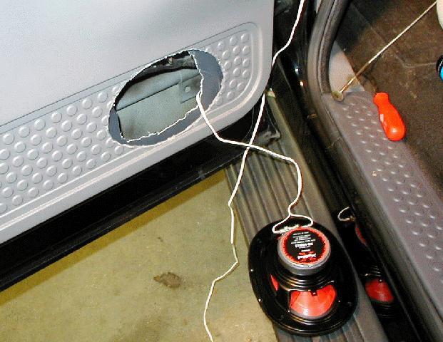 & Door speaker project pezcame.com
