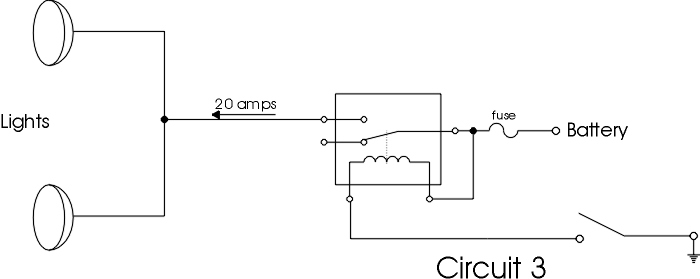 relay101circuits2 relay 101 4 pole relay wiring diagram at edmiracle.co